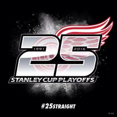 Congrats to the Detroit Red Wings! The longest Postseason streak in all of Major Sports! #25straight #lgrw