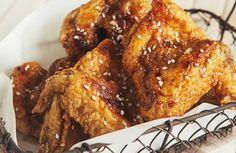 BonChon Soy Garlic Chicken Wings Recipe (Mirin substitute: Apple Cider Vinegar)