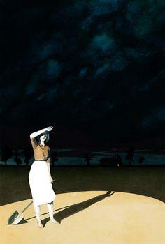 """July"" | Serena Malyon Illustration"
