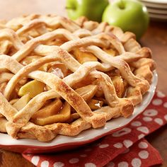 Blue Ribbon Apple Pie | Land O'Lakes