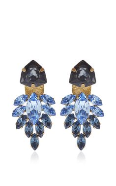 Olya Shikhova - Black and Blue Taiga Ear Jackets