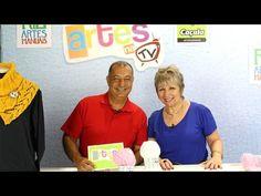 Artes na TV - 02/04/16 - T3/E9 - Gola em tricô / Técnica de craquelê / Entrevista com Mairulce Mariá - YouTube