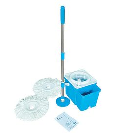 the ultimate spinning mop and bucket it lets you soak and. Black Bedroom Furniture Sets. Home Design Ideas