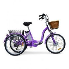 Our most portable adult tricycle paired with an electric motor to create the perfect travel companion. Velo Tricycle, Motorized Tricycle, Adult Tricycle, Trike Bicycle, Cruiser Bicycle, Ladies Electric Bike, Best Electric Bikes, Electric Trike, Electric Motor