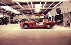 Performance studio at the AMG Headquarters in Affalterbach, Germany.