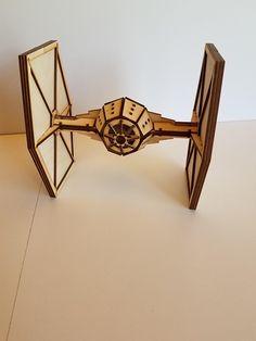 Tie Fighter Star Wars Metal Art Sculpture Surprised Gift For Boyfriend Cool Gift