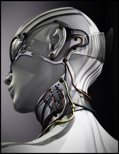 Organic Modeling - Cyber Chick 2 by Lycee Anaya. S)