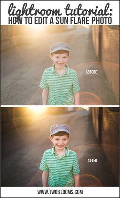 Photography Tips | Editing A Sun Flare Photo In Lightroom | Two Blooms Lightroom Presets