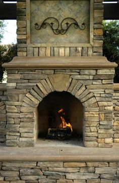 1000 images about sanctuary in the city on pinterest for Eldorado outdoor fireplace