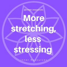 More stretching, less stretching. Yoga for stress Give it a try- we all want to be less stressed www.2r.co.za @inner.resources.wellness Yoga Quotes, Stretching, Stress, Inspirational Quotes, Wellness, Life Coach Quotes, Inspiring Quotes, Stretching Exercises, Inspire Quotes