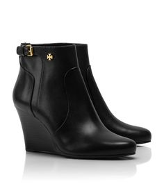 Black Tory Burch Booties