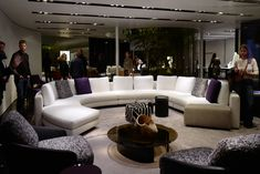 See the latest from leading Brands, Architects, Designers and Art Directors Stand Design, Sofa Design, Architects, Sofas, Designers, Colours, Couch, Furniture, Home Decor