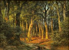 Julius Mařák Country Roads, Artist, Kultura, Painting, Forests, Landscapes, Trees, Painters, Paisajes