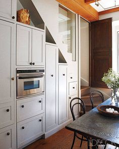 50 Little Kitchens That Will Change Everything You Know About Small Spaces   Built In StorageUnder Stair  Storage  Kitchens Under the Stairs   Staircases  Kitchens and  . Under Stairs Kitchen Design. Home Design Ideas