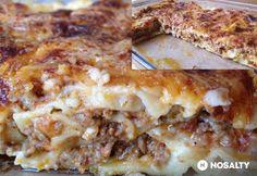 Lasagne házi tésztával | NOSALTY Food And Drink, Favorite Recipes, Ethnic Recipes, Kitchen, Lasagna, Cooking, Kitchens, Cucina, Stove