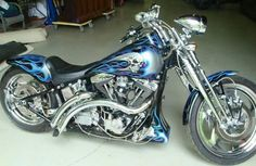 1999-Harley-Davidson-Springer-Motorcycle....You're beautiful, you're beautiful, you're beautiful it's true.  WOW.