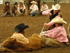The WRRA, formed in 2005, features women‑only teams competing in a series of ranch rodeos throughout the year, culminating in a national finals each October. Description from ontherodeoroad.com. I searched for this on bing.com/images