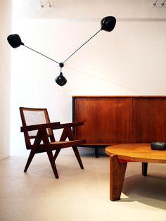 pierre jeanneret | lounge armchair