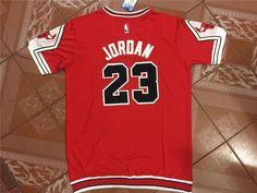 Chicago Bulls Mitchell and Ness #23 Michael Jordan red legendary Jersey