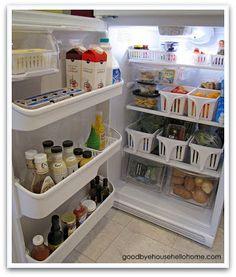 Frugal kitchen organizing ideas