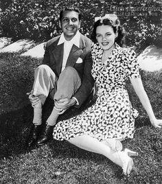 Judy Garland and David Rose