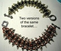 Centipede Bracelet Pattern at Sova-Enterprises.com