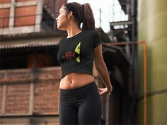 Graphic Fun Fish Eat Fish Women's Crop Tee The classic fun fish eat fish women's crop tee is just crazy sort of fun and will get you some casual attention. Hand drawn simple high-quality graphic was created with the attention to the detail. The season's trendiest garment – the crop top. This top is tight-fitting …