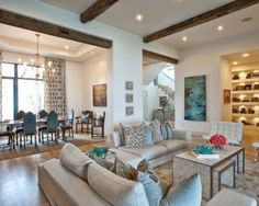 Beautiful houses interior design tips for small or big homes beautiful house interior images - House Beautiful Beige Living Rooms, Eclectic Living Room, Transitional Living Rooms, Living Room Designs, Living Room Decor, Living Spaces, Dining Room, Living Area, Transitional Style