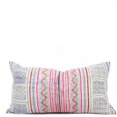 Tribal Lumbar Pillow - Vintage