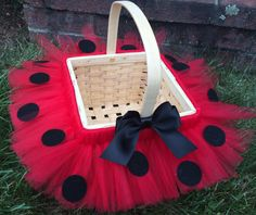 Easter basket halloween bucket custom color or by MissMadelynsBows
