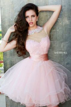 Sherri Hill - Official Site of Designer - Prom Dresses - Couture Dresses Ryan Newman, Tulle Dress, Pink Dress, Dress Prom, Bridesmaid Dress, Celebrity Prom Dresses, Prom Dress Couture, Sherri Hill Prom Dresses, Designer Prom Dresses