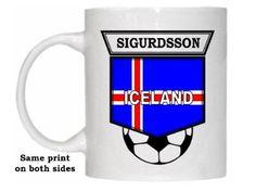 Gylfi Sigurdsson (Iceland) Soccer Mug