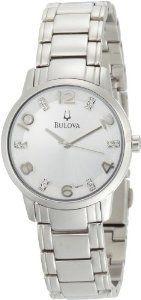 #Bulova Womens 96p111 Diamond Bracelet  women watch #2dayslook #alex2578923  www.2dayslook.com
