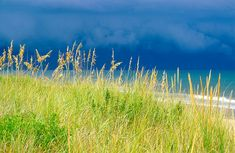 A storm rolling in, Outer Banks, NC Hawaiian Islands, Ocean Beach, Oceans, Banks, Seaside, Beaches, Swimming, In This Moment, Nature