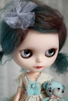 Emitha - an ooak custom Blythe doll by Mab Graves by mab graves, via Flickr