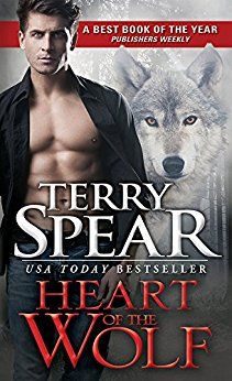4 stars shifters, mates, magic/paranormal paranormal romance Heart of the Wolf by Terry Spear https://thebookdisciple.com/heart-wolf-terry-spear/