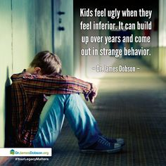 9/29/2014 PART ONE: Self-esteem. Feelings of inferiority. Puberty. On the next edition of Family Talk, Dr. James Dobson helps parents of teens and pre-teens prepare their children for adolescence.  http://drjamesdobson.org/Broadcasts/Broadcast?i=3629308e-7ad0-4b5a-9850-ce81a3c140da&sc=FPN