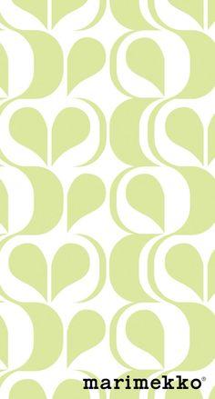 マリメッコ/おしゃれパターン17 iPhone壁紙 Wallpaper Backgrounds iPhone6/6S and Plus Marimekko iPhone Wallpaper