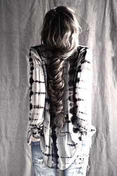☮ American Hippie Bohéme Boho Style ☮ Hairstyle