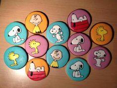 Snoopy, Charlie Brown, & Woodstock by Lian Craig