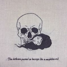 sixpenceee: The dark side of hand embroidery by Adipocere Hand Embroidery Designs, Embroidery Art, Cross Stitch Embroidery, Cross Stitch Patterns, Occult Tattoo, Psychedelic Drawings, Learning To Embroider, Stitch Witchery, Macabre Art