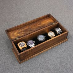 The wood used for this box is new treated wood  Need a fast response, please check our FAQ section.  http://rusticnvintage.com/faq  If I order