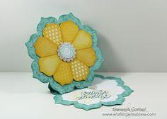 Sunshine Flower Twisted Easel Card
