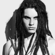 Samuel Larsen. Usually can't stand dreds. But. He is the exception. <3