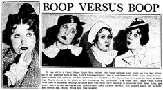 """Helen Kane is the most likely originator of the """"Betty Boop"""" vocal style and appearance, though others, such as, Margy Hines, Mae Questel, & Bonnie Poe also claim to be the originators of the style as well. A Supreme Court hearing was held over the """"Betty Boop"""" character in New York."""
