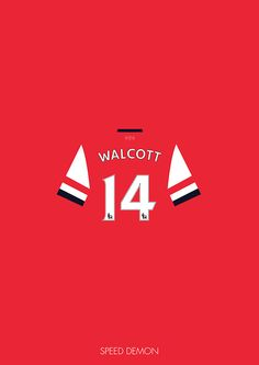 Theo Walcott of Arsenal FC -- Speed Demon