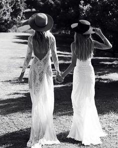 Viva La Vida! INCA + SAMBA, two gowns that rule our world | stylist@graceloveslace.com.au #graceloveslace #theuniquebride