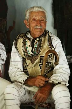 Romanian traditional outfit for male.love the details