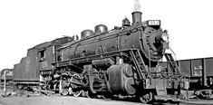 PHOTO - TORONTO - TRAIN - CANADIAN NATIONAL - STEAM ENGINE 2391 - 1949