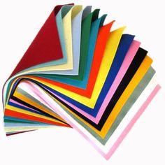 Цвет нетканые 45 * 40см 19 цветов Бесплатная доставка ручной работы DIY…